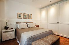 armário de portas de correr - quarto de casal - bedroom - Studio 021 Arquitetura