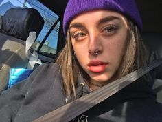 Billie Eilish, Girl Crushes, Piercing, Singer, Sexy, Instagram Posts, Trap, Google, Outfits