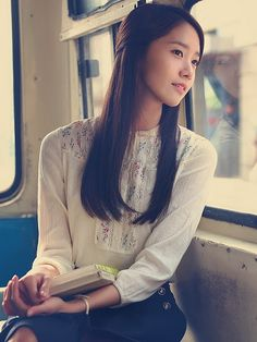 SNSD Yoona Love Rain long, straight hair