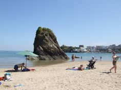 Goscar Rock, North Beach, Tenby