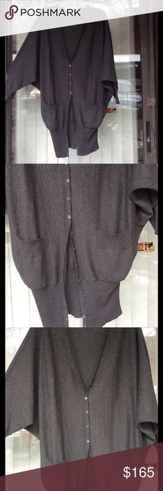 Haute hippie oversized silk and cotton cardigan Worn few times,very soft and light,with pockets and buttons Haute Hippie Sweaters Cardigans