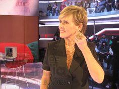 Mercedes Milá on TV.