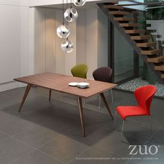 Zuo Stockholm Dining Table.