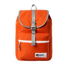 [The Earth] Nylon 1 Pocket Backpack - Orange -  The Earth Nylon ranges are light and comfortable backpacks. Useful storages made with protective materials, comfort shoulder straps and back support.