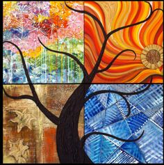 *tree in 4 seasons*