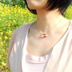 DALILA tassel necklace by Malababa SS14 #malababa #tassel #necklace