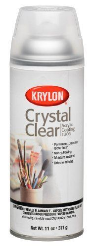 Krylon 1303 Acrylic Spray Paint Crystal Clear in 11Ounce Aerosol *** For more information, visit image link.