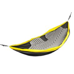 The first air pad designed specifically for all hammocks, giving the sleeper 180˚ of insulation, significantly reducing the amount of lost body heat.