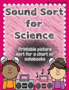 Science Sound Sort {FREEBIE}