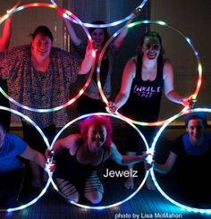 Jewelz Hanssens Spins Hooping For Fitness | Hooping.org