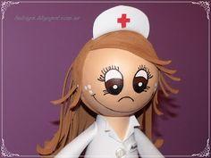 Mi Pequeño Rincón: fofucha enfermera