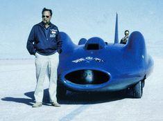 BLUEBIRD CN7 50th ANNIVERSARY DONALD CAMPBELL TONIA BERN NATIONAL MOTOR MUSEUM BEAULIEU