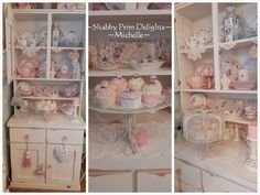 Shabby Prim Delights - by Michelle <3 Love, love, love this! <3