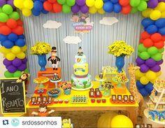 Ver esta foto do Instagram de @carolfesteira • 67 curtidas Animal Themed Birthday Party, Birthday Party Themes, Invitation Cards, Invitations, Festa Toy Story, Festa Party, Ideas Para Fiestas, Paint Party, Baby Boy Shower