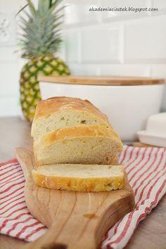 Akademia Ciastek... i nie tylko: Chleb pszenny codzienny Banana Bread, Food, Meals, Yemek, Eten