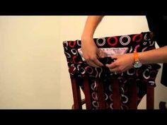 Anywhere Chair: Fabric Highchair Tutorial - YouTube