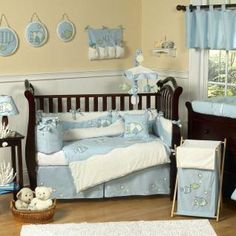 (FAVE) Go Fish Bedding by JoJo Designs - Fish Baby Crib Bedding - gofish-9  PURCHASED
