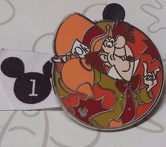 Mad Hatter Mad Tea Party 2012 Hidden Mickey DLR Alice in Wonderland Disney Pin