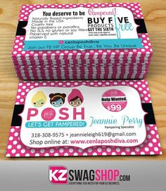 Perfectly posh business card template layered psd no3 oh so posh perfectly posh business cards style 4 colourmoves