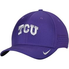 official photos 81dee 3b7c6 ... reduced mens nike purple tcu horned frogs sideline vapor coaches  performance flex hat 8a791 e6299