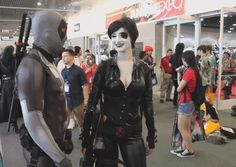 Deadpool and Domino getting Pooled by Deadpool!