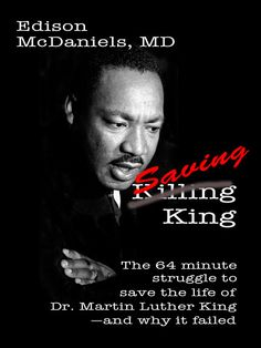 MLK didn't die instantly. Read about the incredible struggle to stop the march of time right now. Creative #nonfiction. #trauma #1968 #MLK #suspense