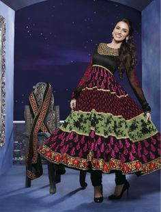 Desginer Indian Pakistani Bollywood Anarkali Suit Salwar Kameez $70