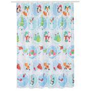 St. Nicholas Square® Friends Fair Isle Shower Curtain
