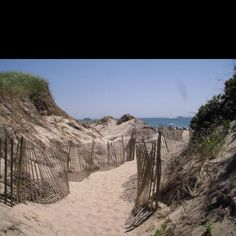 Block Island, RI beach