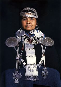 Mapuche lady. South America