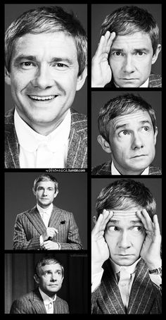 Martin Freeman- Maybe its just me, but i think he is the cutest one on sherlock :)
