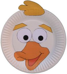 dltk s crafts for kids paper plate animal crafts Kids Crafts, Duck Crafts, Paper Plate Crafts For Kids, Fun Crafts To Do, Animal Crafts For Kids, Arts And Crafts, Paper Crafts, Daycare Crafts, Paper Plate Art