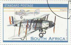 Stamp: Wapiti (South Africa) (Powered Flight, Cent) Mi:ZA 1534,Sn:ZA 1331c