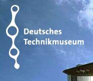 Logo: Deutsches Technikmuseum Berlin. Link zur Startseite