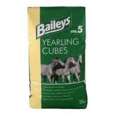 Baileys No. 05 Yearling Cubes 20 kg - Horse Feed - Baileys