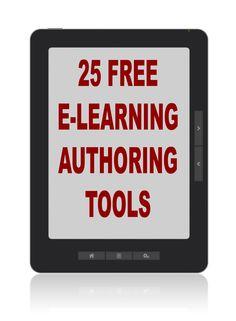 Free E-Learning authoring tools- osa tosiaan soveltuu myös hyvin meidän koulumaailmaan :)
