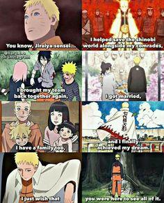 quotYou know Jiraya sensei I helped save the person Anime Naruto, Naruto Facts, Manga Anime, Naruto Sasuke Sakura, Wallpaper Naruto Shippuden, Hinata Hyuga, Naruto And Sasuke, Naruto Shippuden Anime, Sakura Haruno
