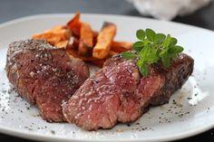 Tri-Tip Steak mit Süßkartoffelpommes