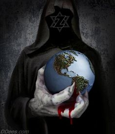 world zionist bloody grip ,  the earth is given into the hands of the wicked (job 9:24 )