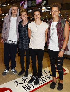 The vamps in japan!