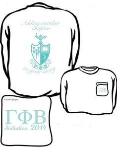 Initiation 2014! U of SC Gamma Phi Beta
