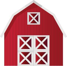 Red Barn Clip Art at Clkercom vector clip art online Clipart - Free Clipart Farm Unit, Barn Parties, Farm Birthday, Farm Theme, Farm Party, Down On The Farm, Party Kit, Free Prints, Animal Party