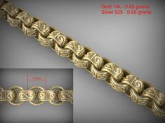 chain link 36 3d model stl 2