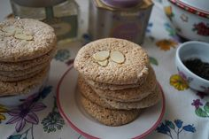 English Almond Macaroons Almond Macaroons, Downton Abbey Fashion, Muffin, Blog, English, Breakfast, Desserts, Tart, English English