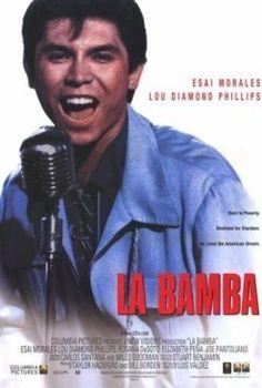 「映画ポスター ラ・バンバ」の画像検索結果