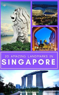 20 Incredible Landmarks in Singapore. Once a colonial trading post for the British, Singapore is an incredible city-state in southeast Asia where remnants of the colonial period stand alongside skyscrapers. #singapore #asia #travel #landmarks #island #historic Singapore Travel Tips, Singapore Trip, Singapore National Day, Visit Singapore, Henderson Waves, Monuments, Dubai, Belle Villa, Thinking Day