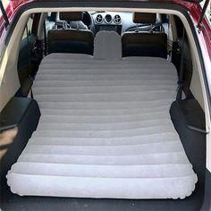SUV Inflatable Mattress Air Bed Travel Car Back Seat Camping W Pump Repair tool
