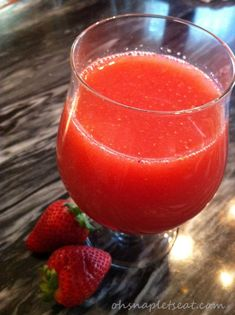 Simple Strawberry Coconut Smoothie