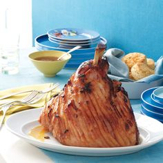 With its sweet, tart, and smoky glaze, this ham will be the centerpiece of any sunny spring celebration.
