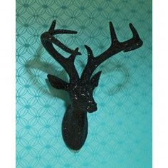 Arthouse Bling Stags Head Black 008195